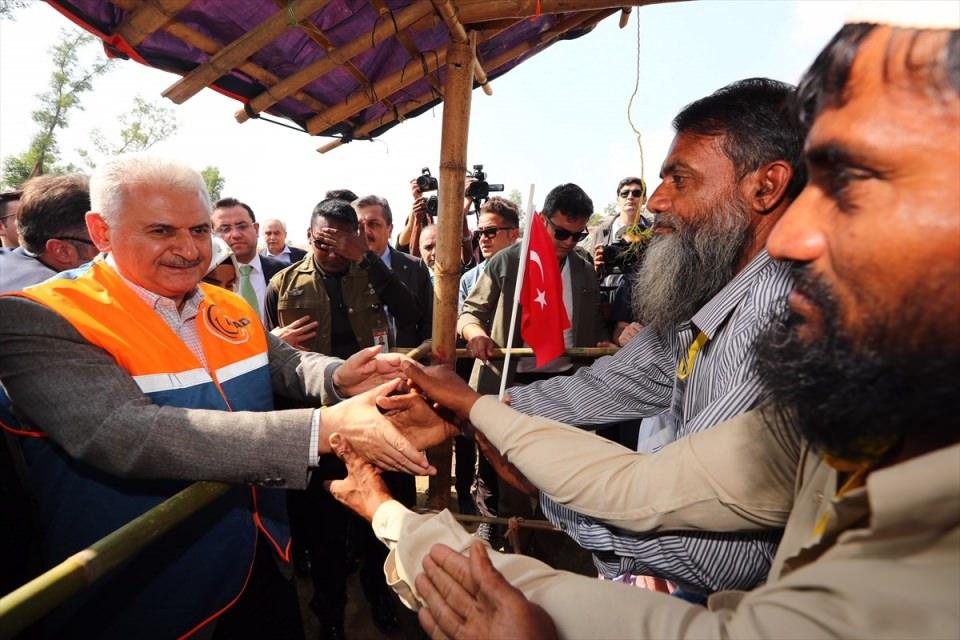 Başbakan Yıldırım'dan Arakanlı müslümanlara ziyaret 9