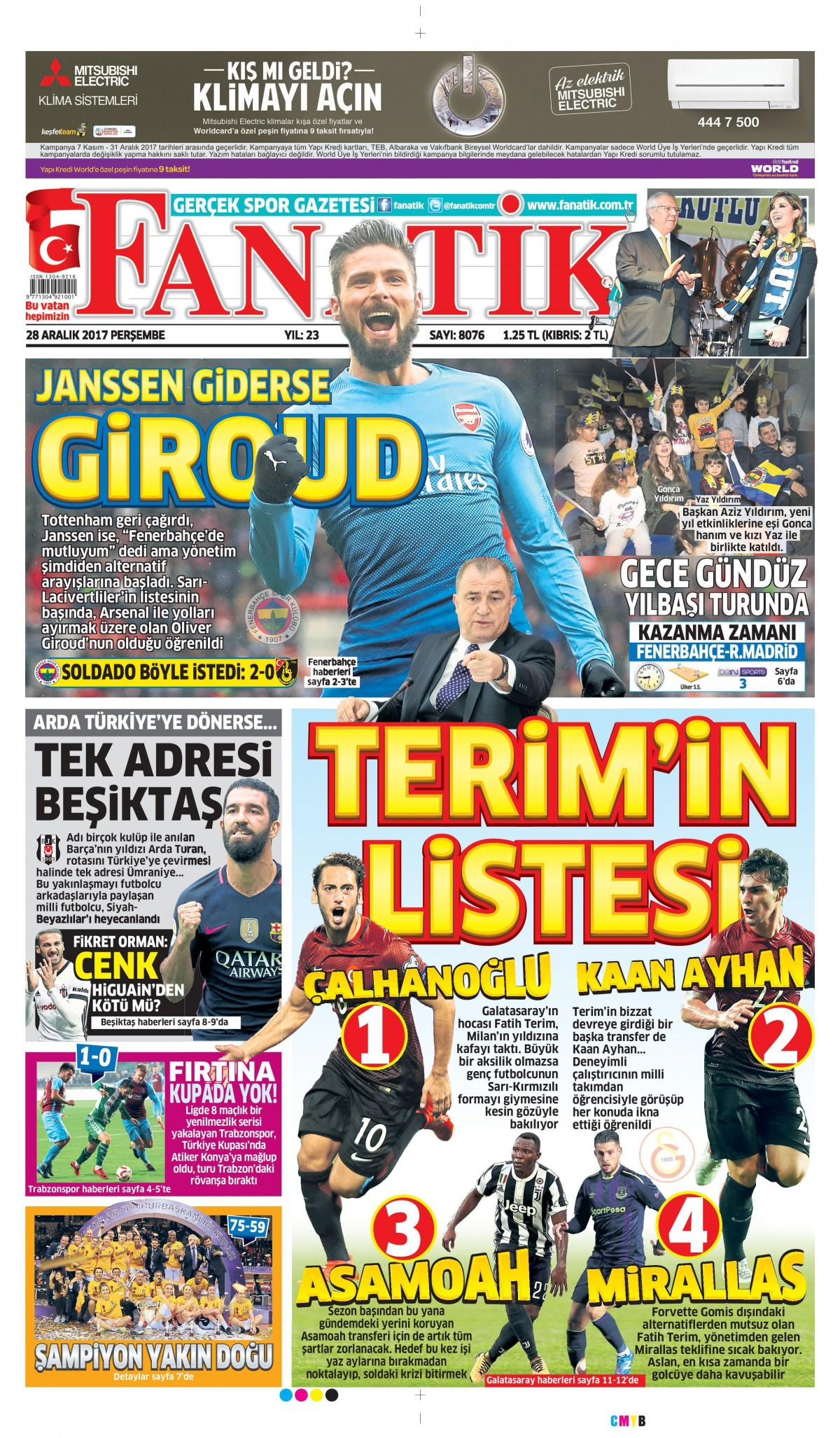 Günün gazete manşetleri 16