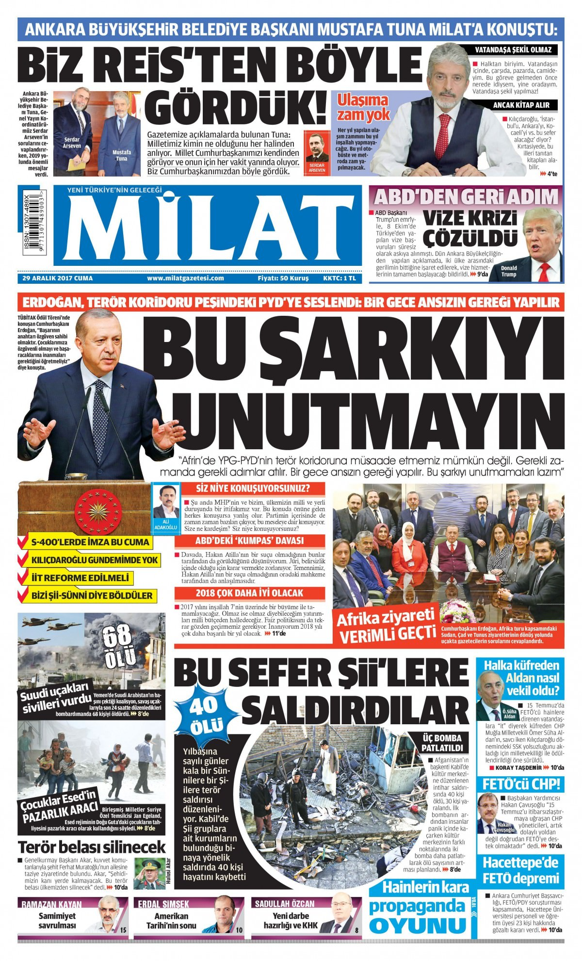 Günün gazete manşetleri! 11
