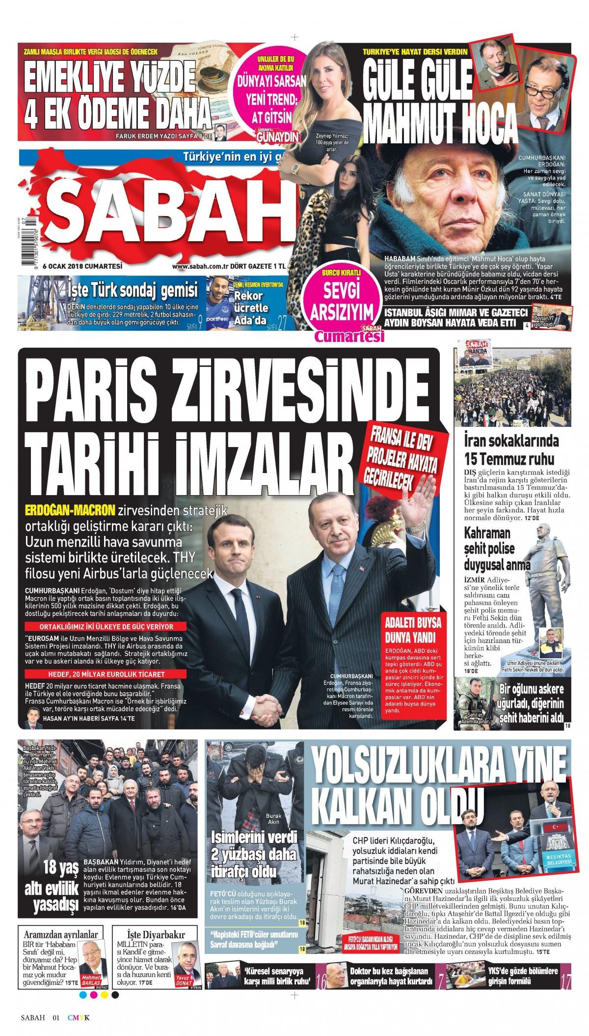 Günün gazete manşetleri! 19