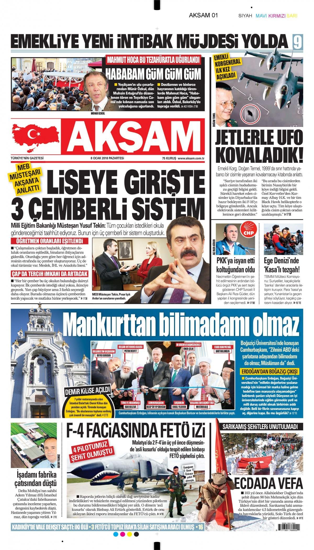 Günün gazete manşetleri 9