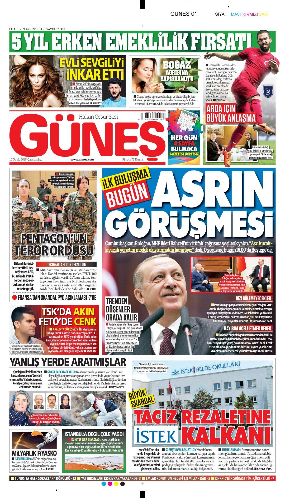 Günün gazete manşetleri! 15