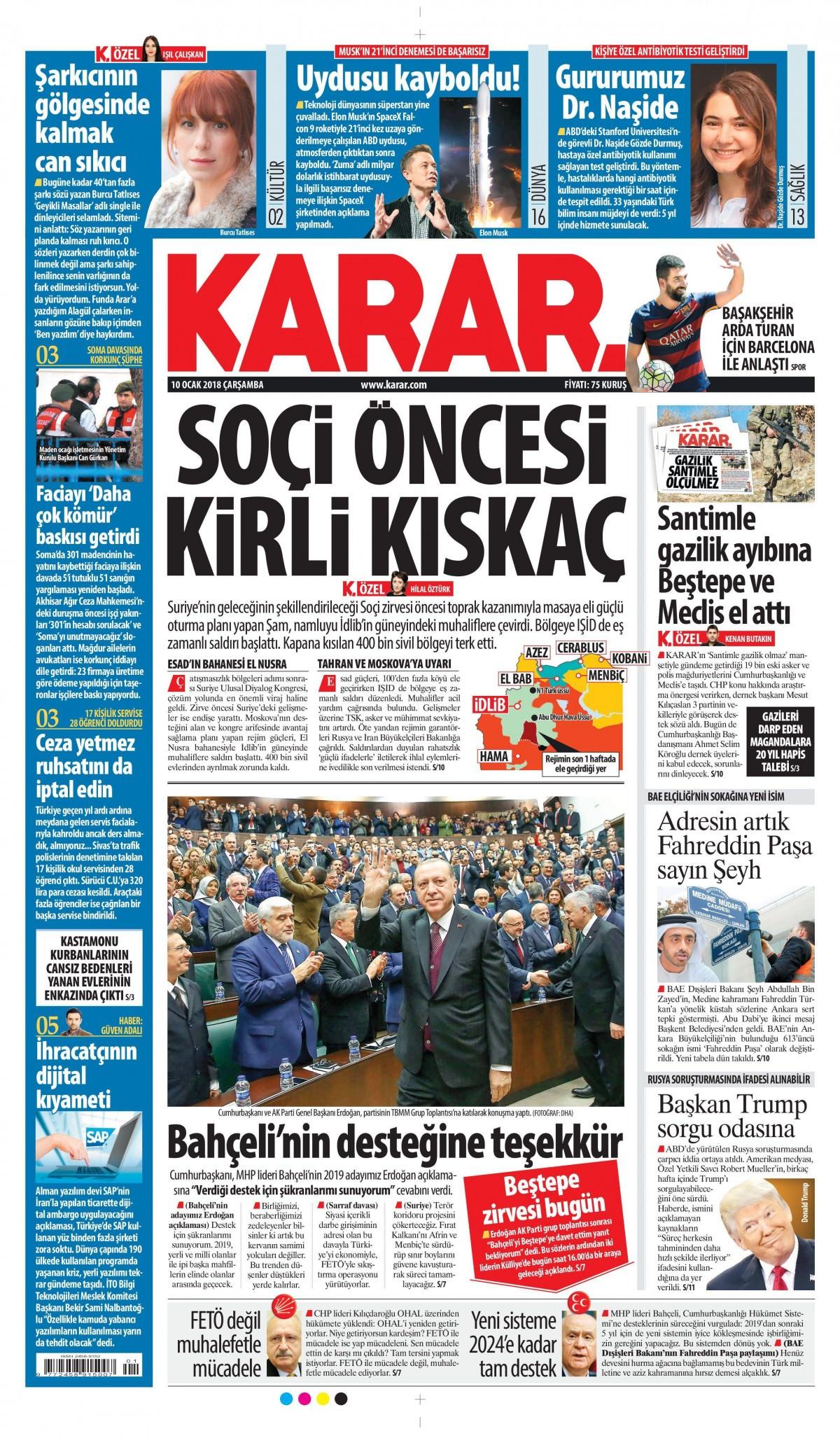 Günün gazete manşetleri! 17