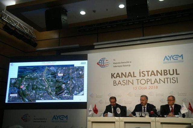 Kanal İstanbul güzergahı havadan görüntülendi 12