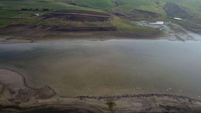 Kanal İstanbul güzergahı havadan görüntülendi 4