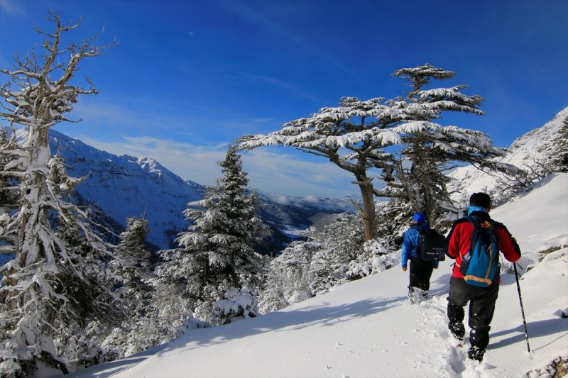 Muhteşem güzellikteki Giden Gelmez Dağları 6