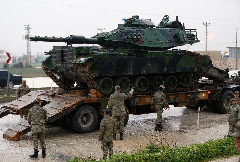 Türk tankları Reyhanlı'da 10