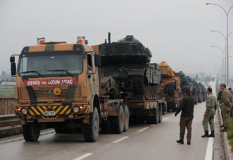 Türk tankları Reyhanlı'da 4