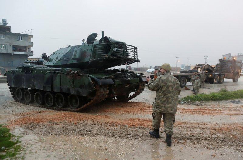 Türk tankları Reyhanlı'da 8