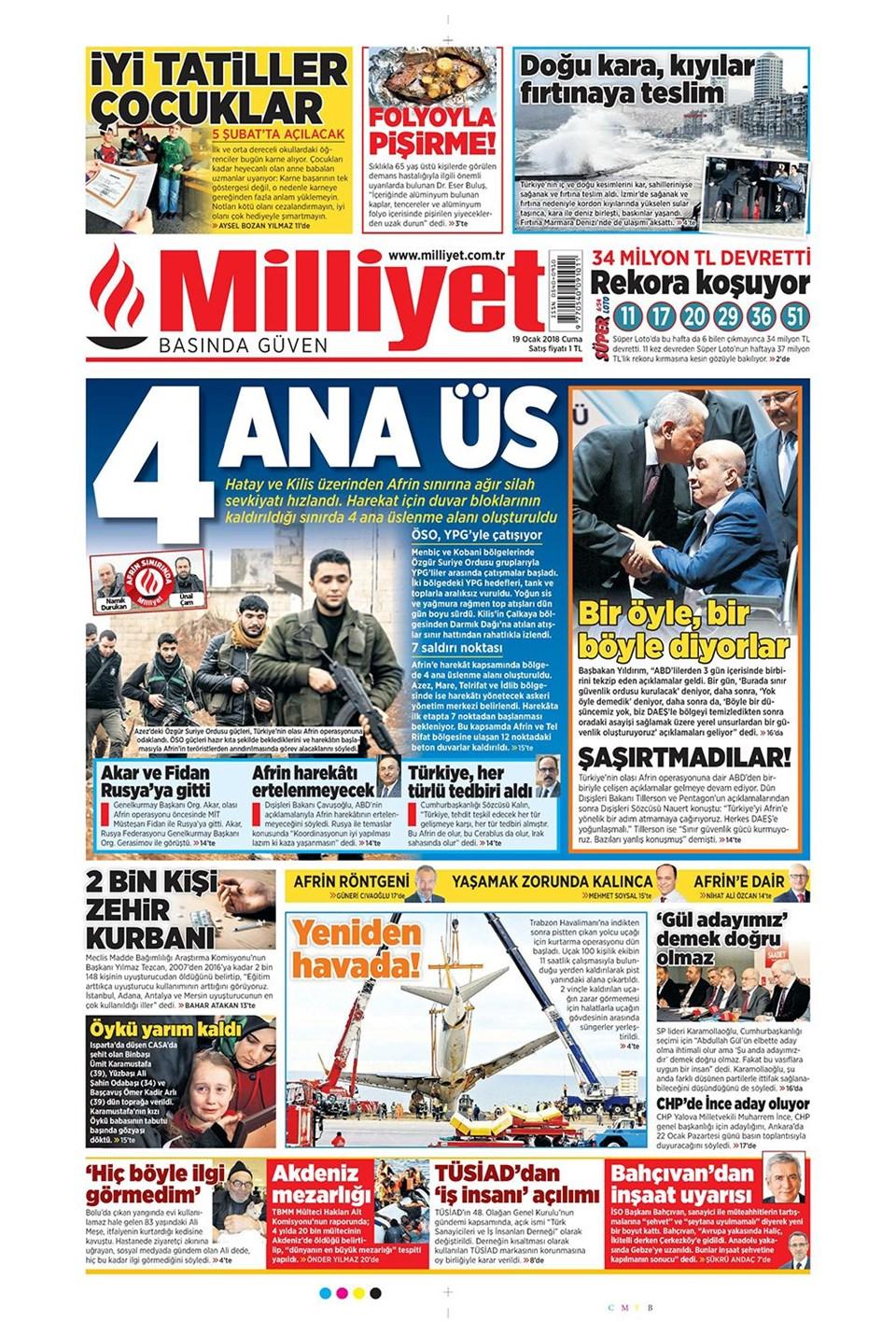 Günün gazete manşetleri 4