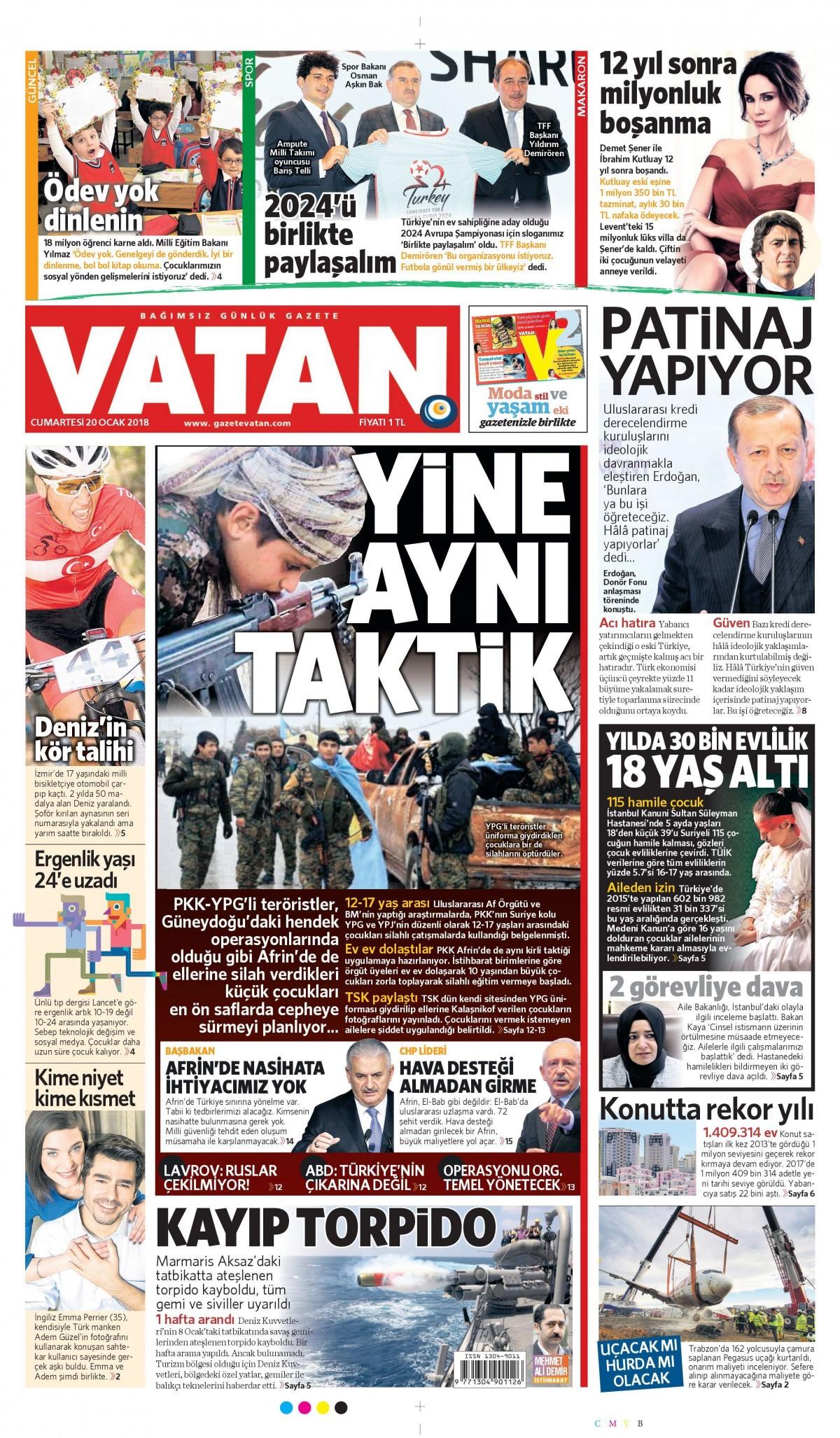 Günün gazete manşetleri 11