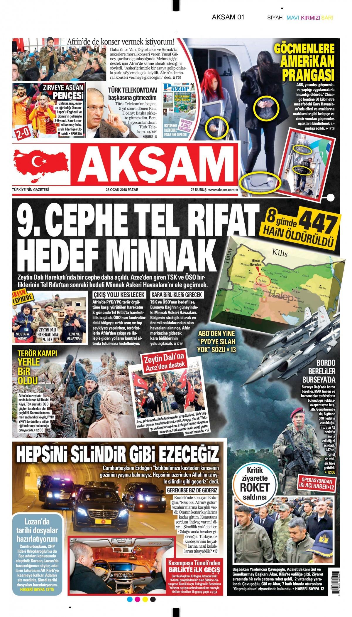 Günün gazete manşetleri! 10