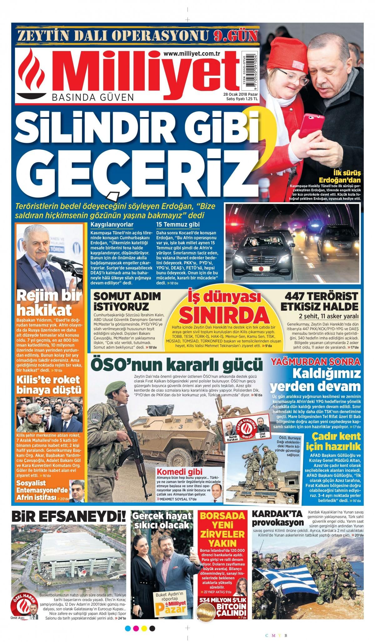 Günün gazete manşetleri! 4