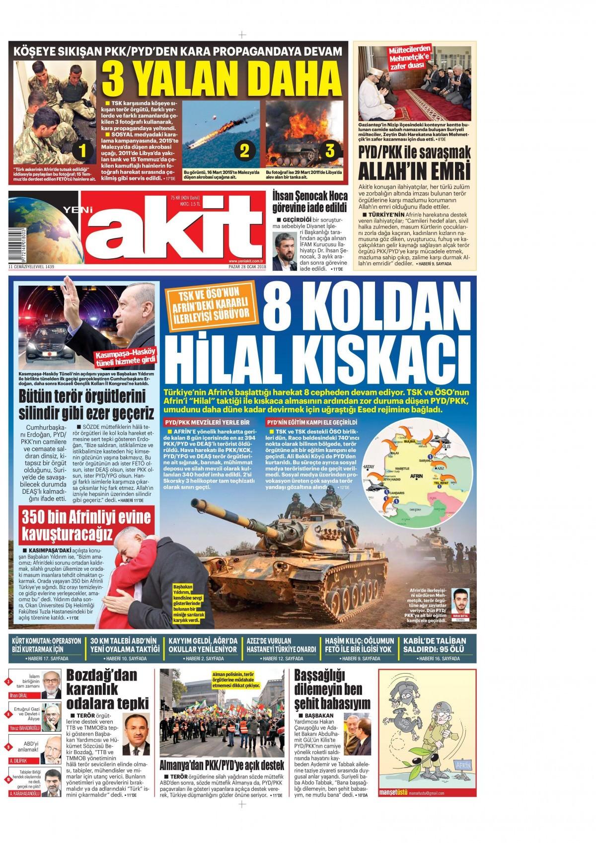 Günün gazete manşetleri! 6