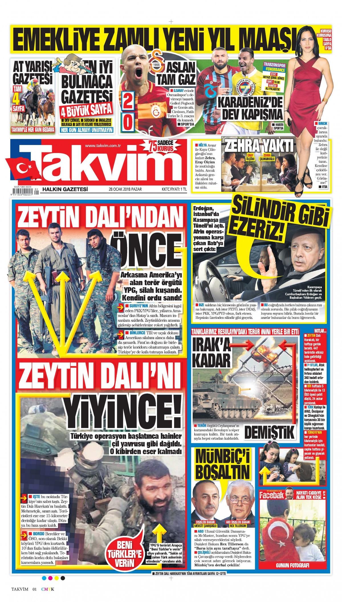 Günün gazete manşetleri! 8