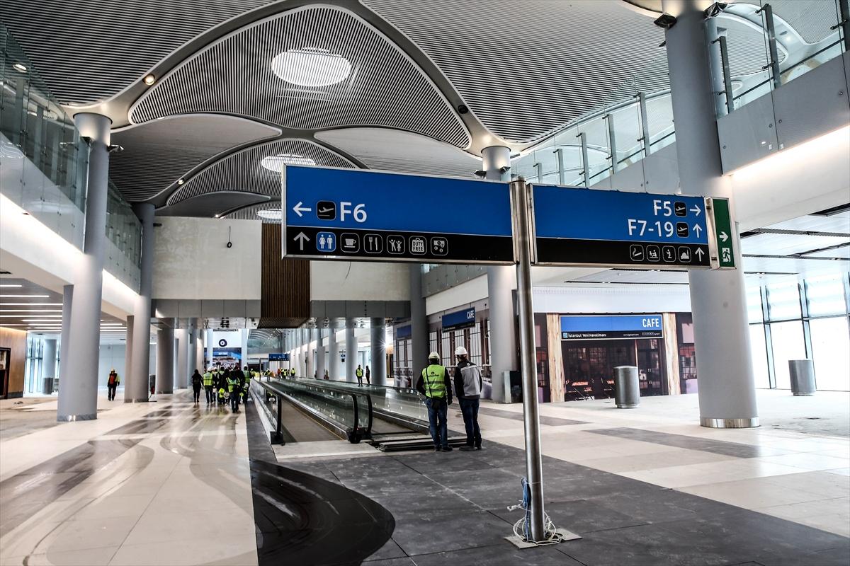 3. Havalimanının yüzde 80'i tamamlandı 1