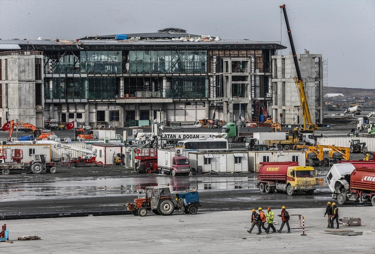 3. Havalimanının yüzde 80'i tamamlandı 12