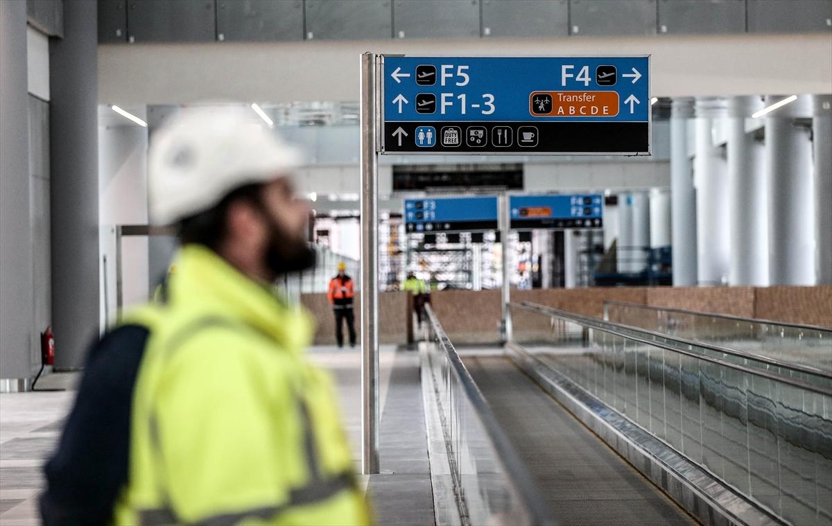 3. Havalimanının yüzde 80'i tamamlandı 16