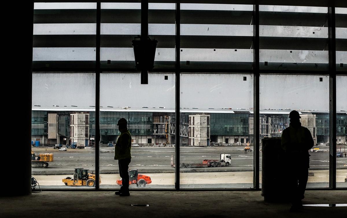 3. Havalimanının yüzde 80'i tamamlandı 19