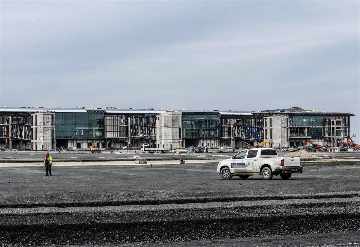 3. Havalimanının yüzde 80'i tamamlandı 26