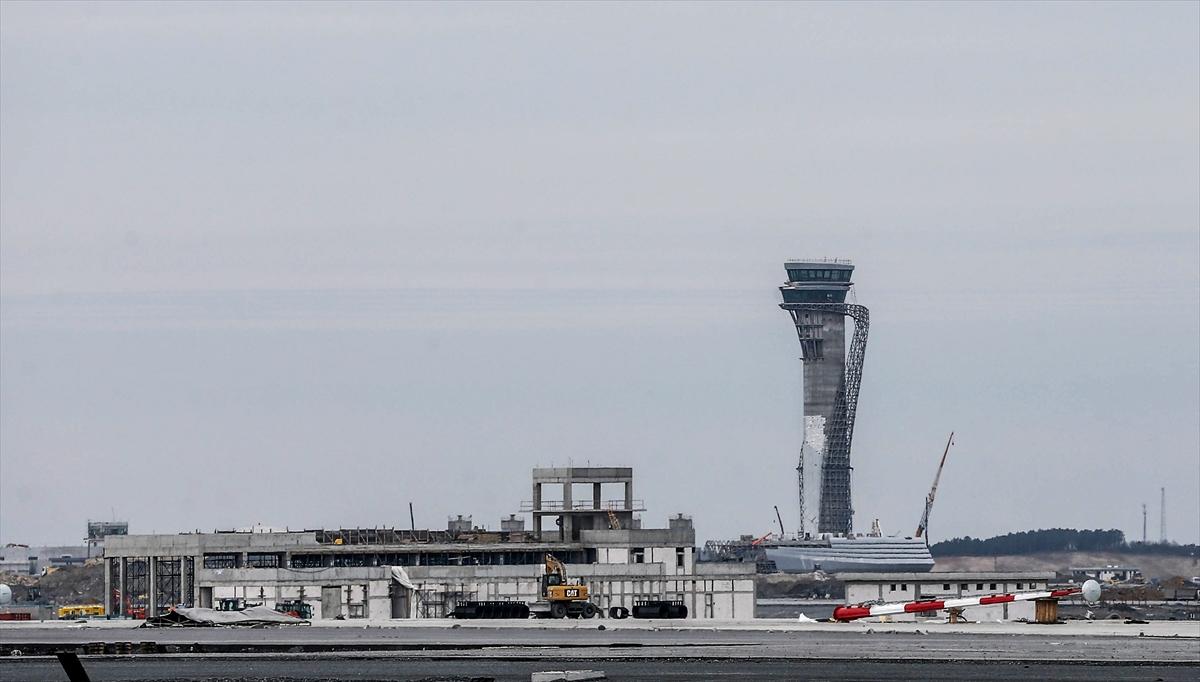 3. Havalimanının yüzde 80'i tamamlandı 3
