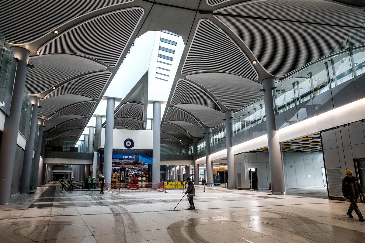 3. Havalimanının yüzde 80'i tamamlandı 9