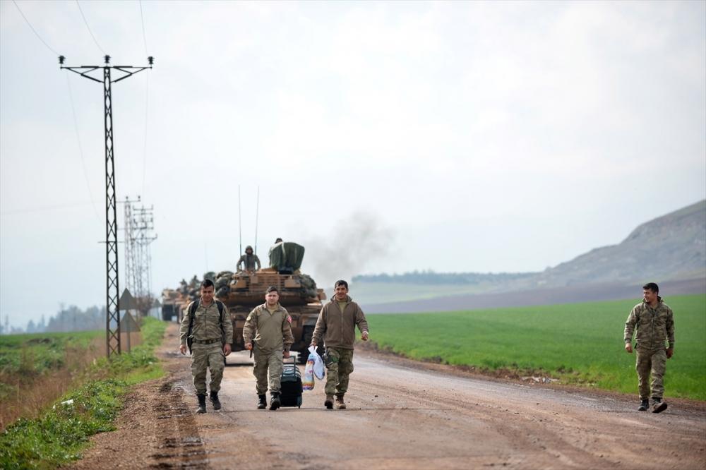 Takviye birlikler Suriye'ye gitti 12