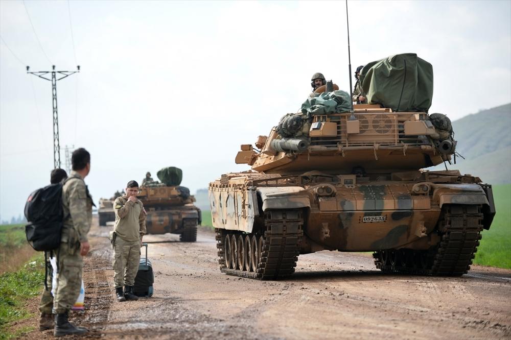 Takviye birlikler Suriye'ye gitti 13