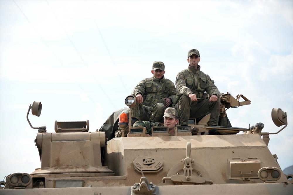Takviye birlikler Suriye'ye gitti 16