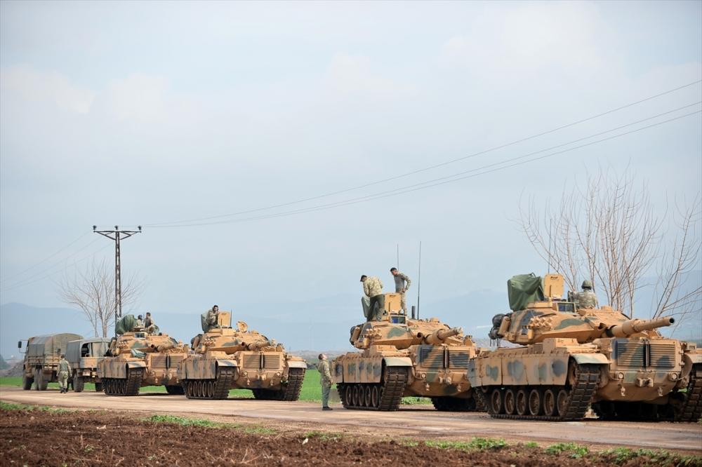 Takviye birlikler Suriye'ye gitti 2