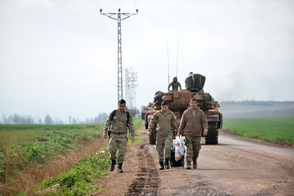 Takviye birlikler Suriye'ye gitti 9