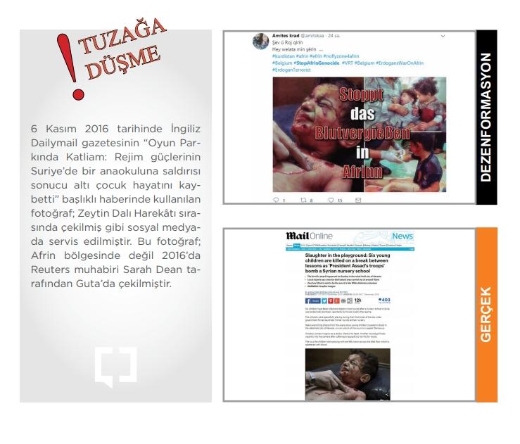 İşte Afrin yalanları ve gerçekler 2