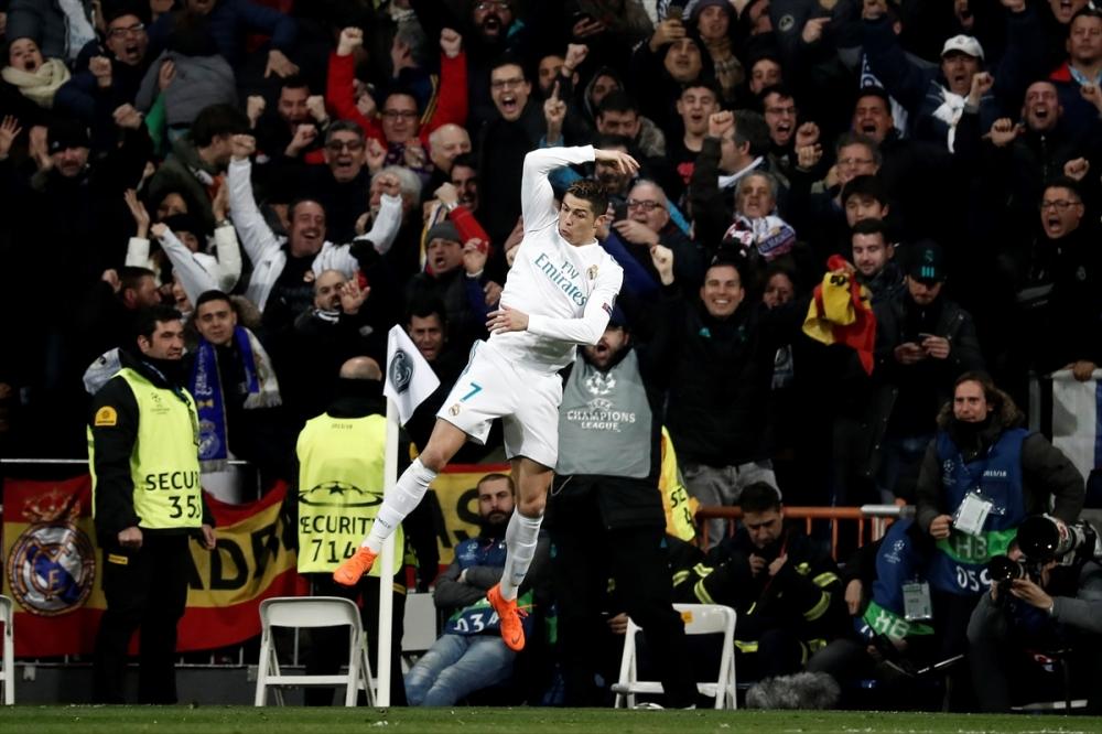 Real Madrid-PSG maçından kareler 14
