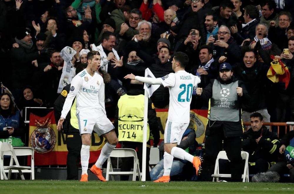 Real Madrid-PSG maçından kareler 16