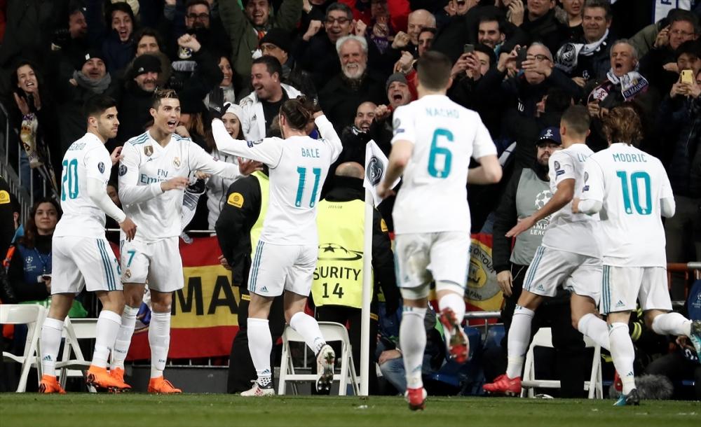 Real Madrid-PSG maçından kareler 18