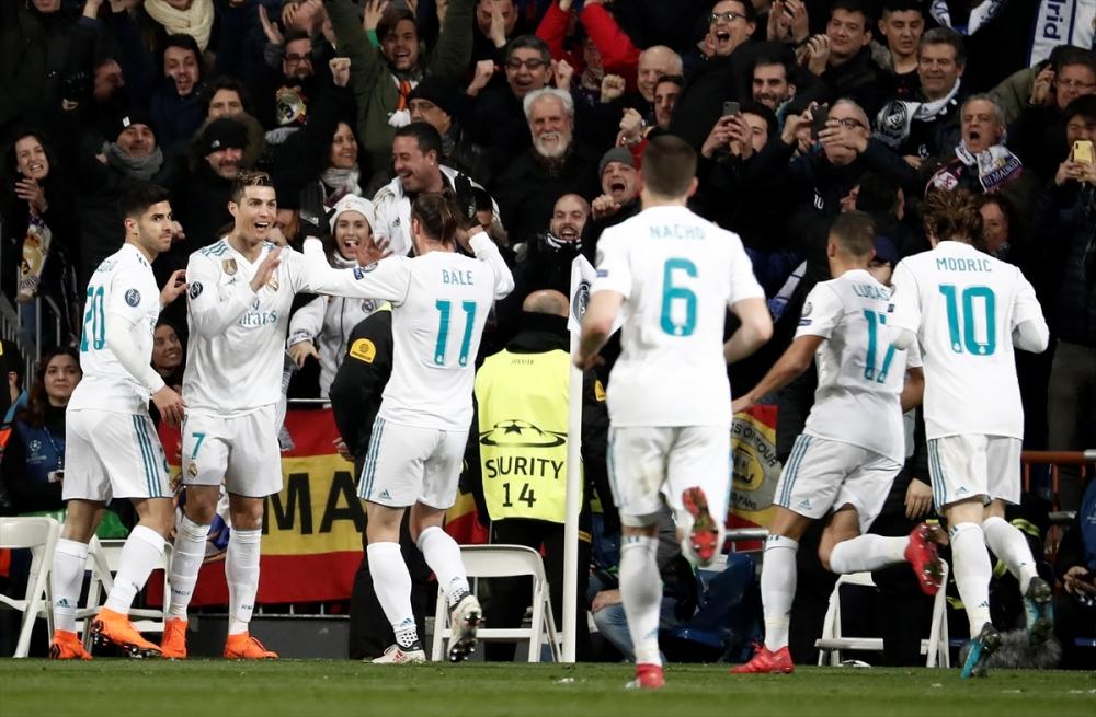 Real Madrid-PSG maçından kareler 19
