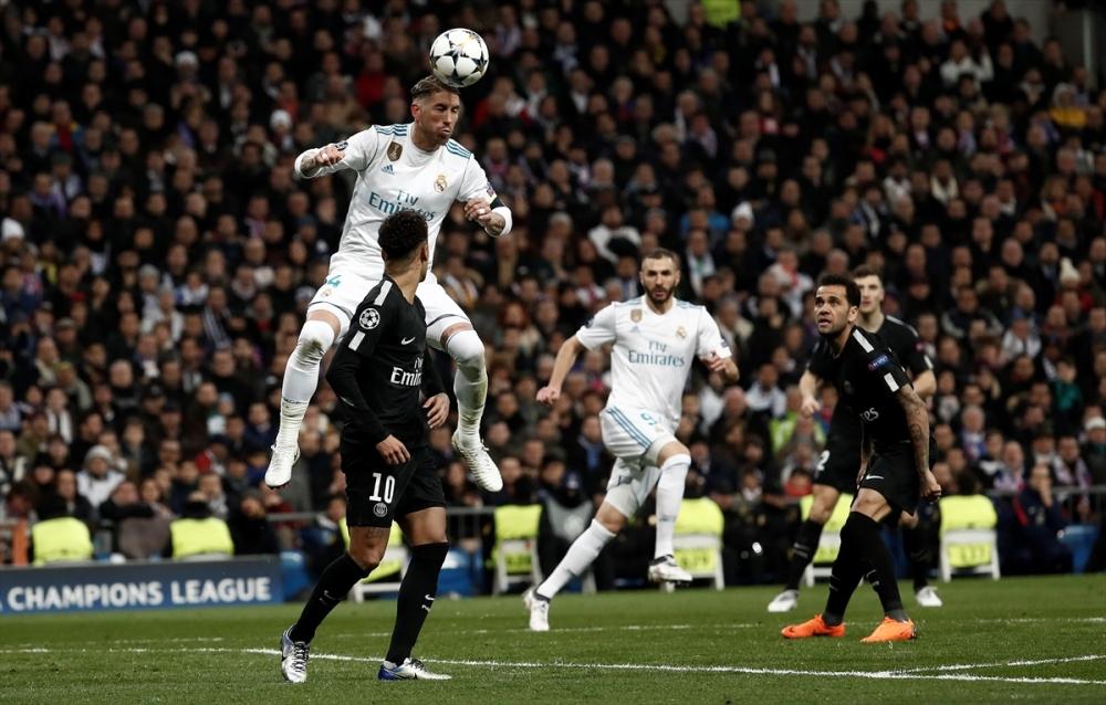 Real Madrid-PSG maçından kareler 2
