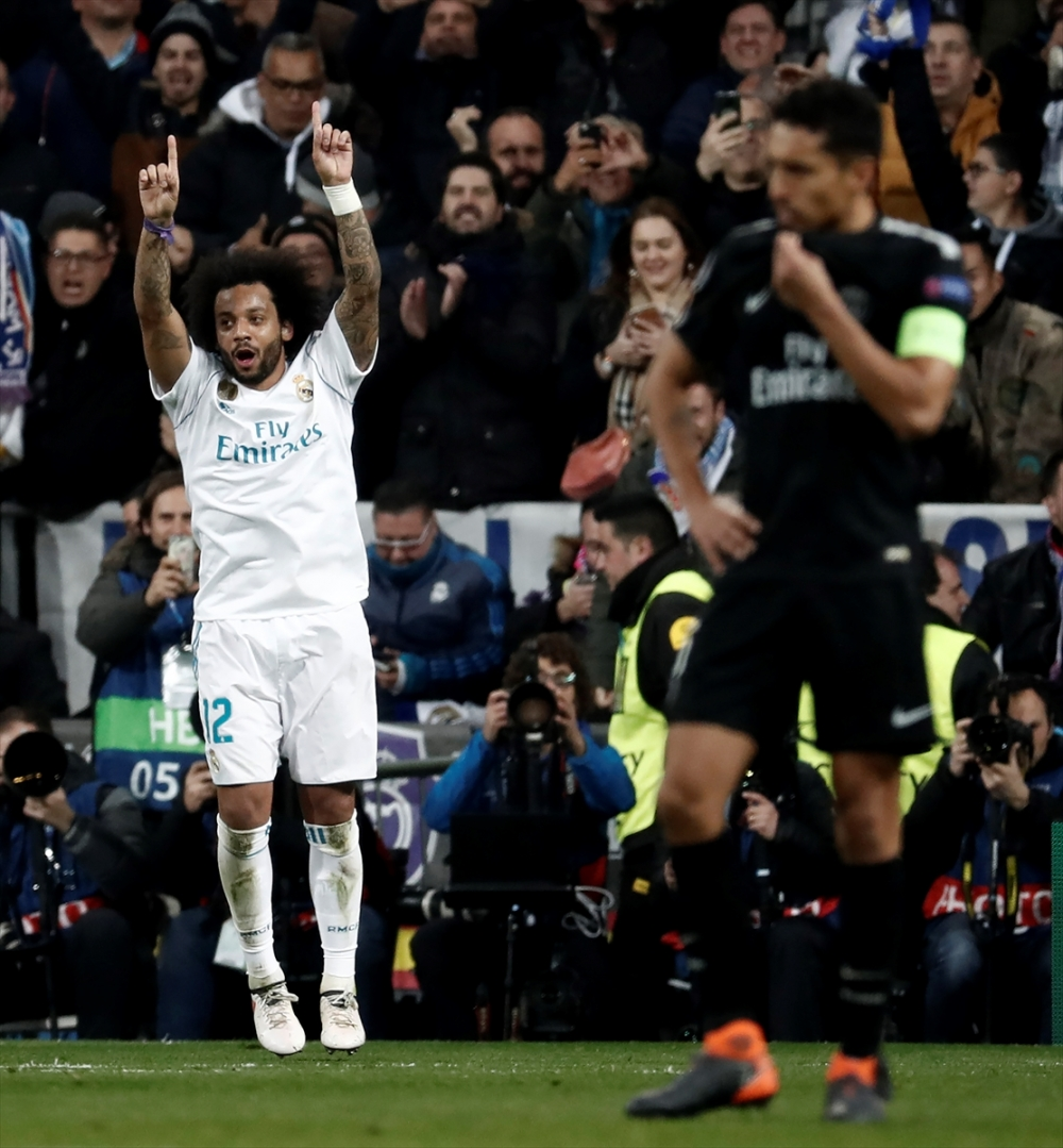 Real Madrid-PSG maçından kareler 23
