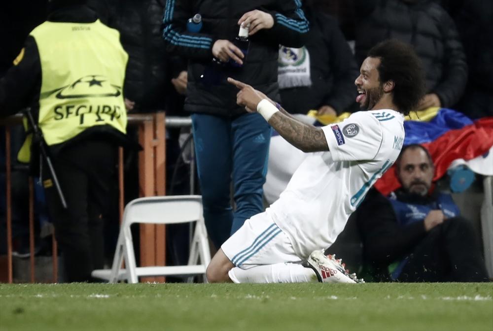 Real Madrid-PSG maçından kareler 24