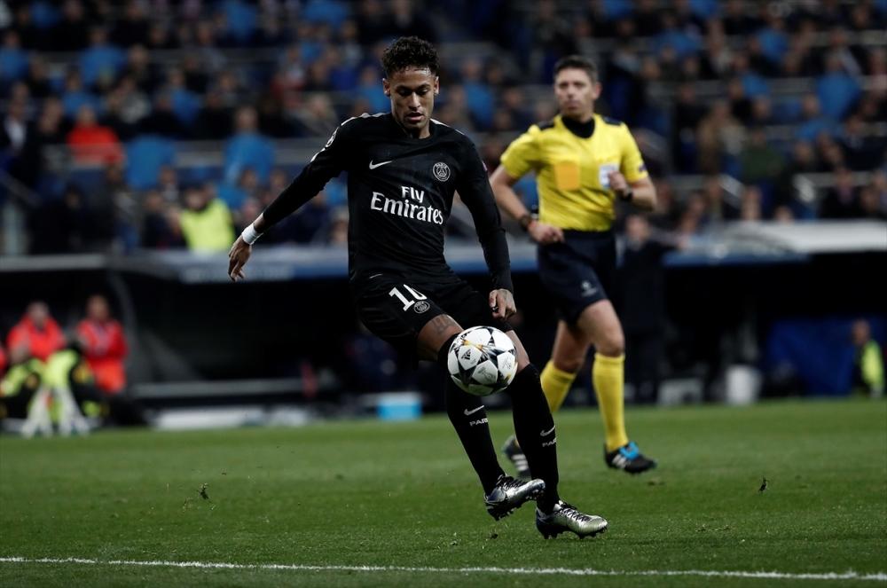 Real Madrid-PSG maçından kareler 6