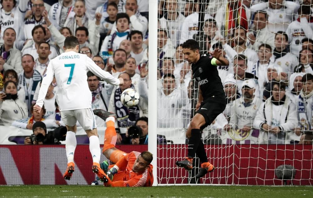 Real Madrid-PSG maçından kareler 8