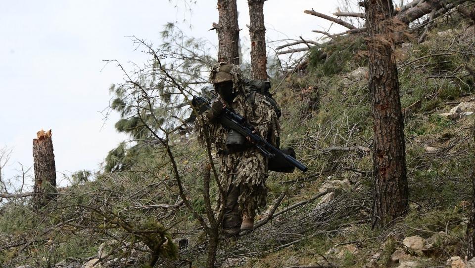 Afrin'in gizli kahramanları 'Keskin nişancılar' 10