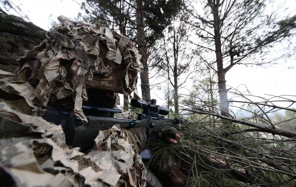 Afrin'in gizli kahramanları 'Keskin nişancılar' 11