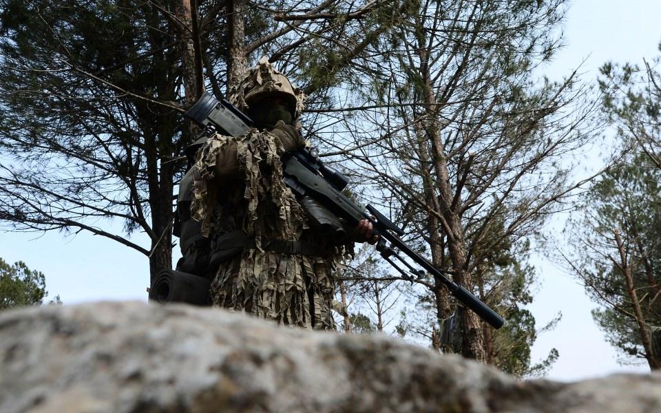 Afrin'in gizli kahramanları 'Keskin nişancılar' 12