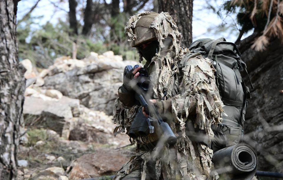 Afrin'in gizli kahramanları 'Keskin nişancılar' 3
