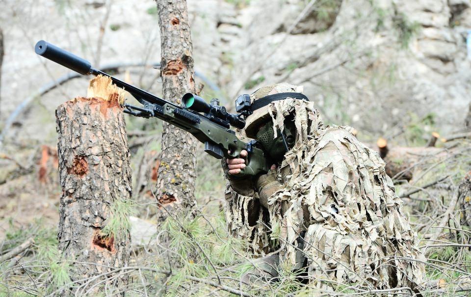 Afrin'in gizli kahramanları 'Keskin nişancılar' 7