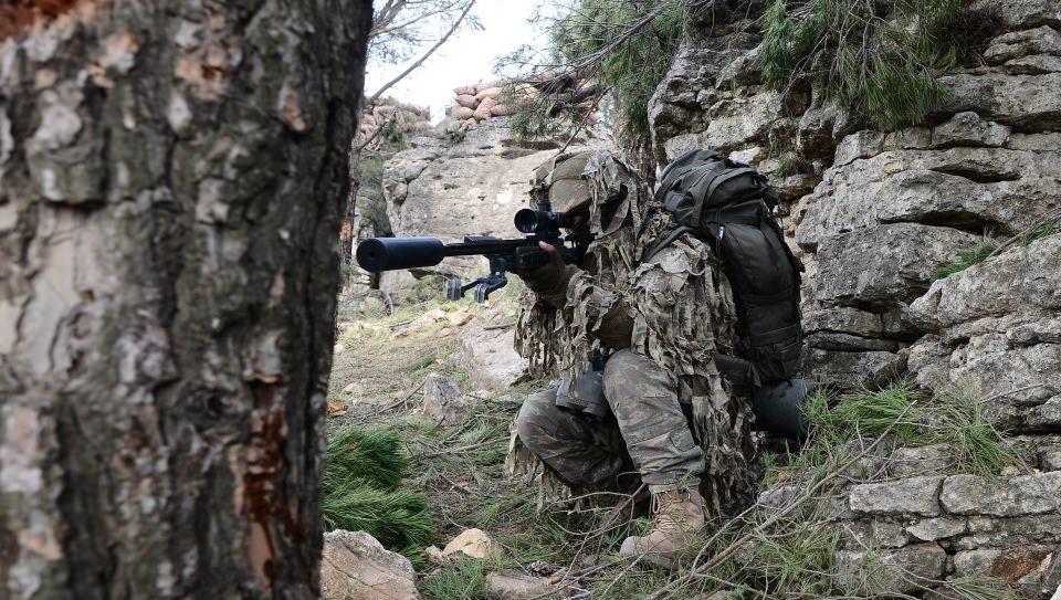 Afrin'in gizli kahramanları 'Keskin nişancılar' 8