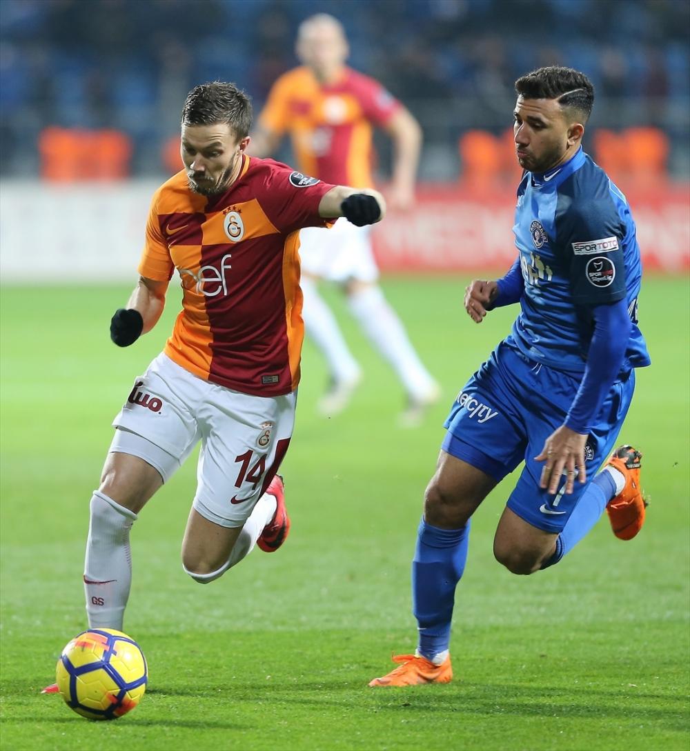 Kasımpaşa Galatasaray maçından kareler 13