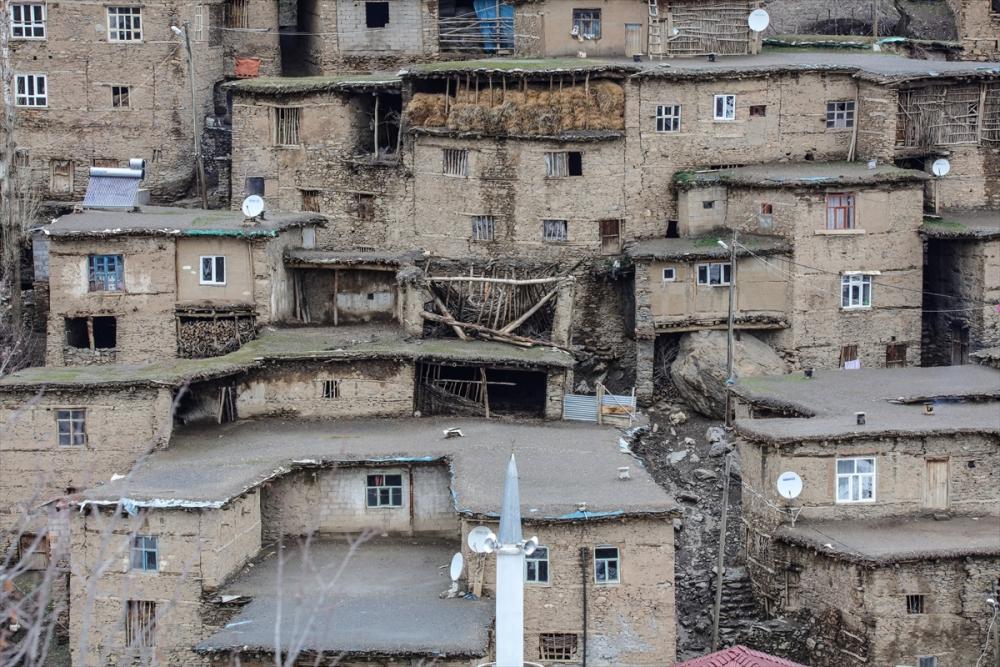 Hizan'ın taş evleri 12