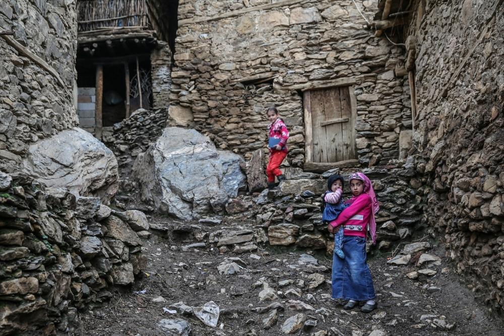 Hizan'ın taş evleri 17